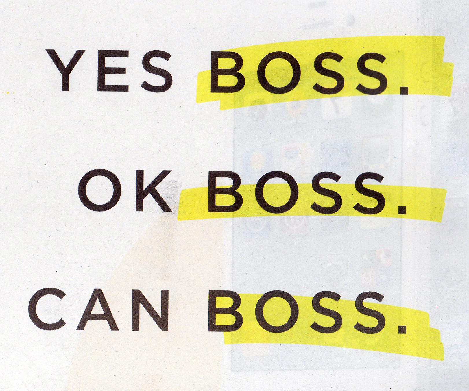 Arleneanddenniswordpresscom yes boss ok boss can boss