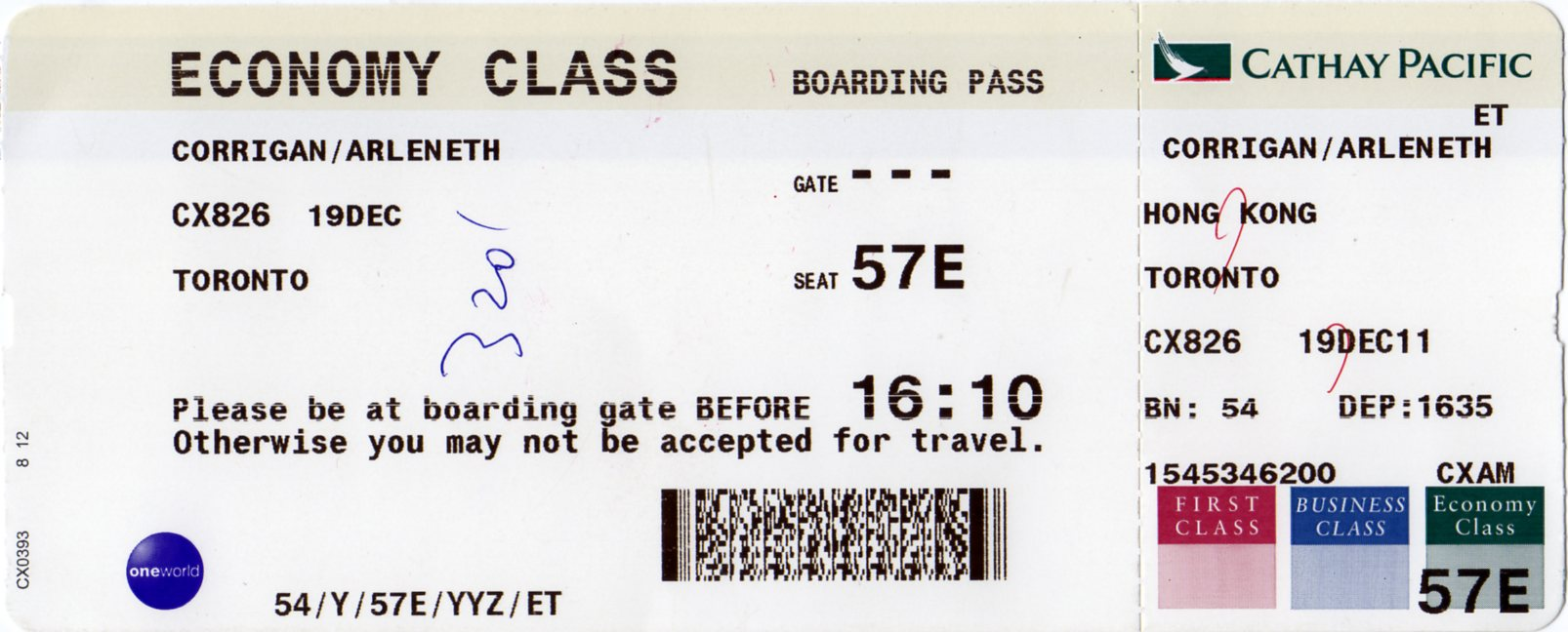 Pasaje aéreo