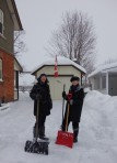 2013 Dec 22 - Mary Arsenault & Karen McEwen