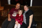2013 Dec 26 - Danny, Jennifer & Kaley