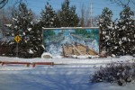2013 Dec 27 - Rafting mural in winter