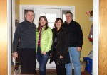 2014 Jan 06 - Brian & Sue Long, Arlene & Dennis