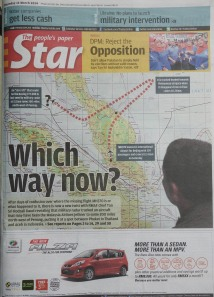 2014 Mar 13 - The Star - Which way now?