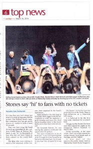2014 Mar 16 - Singapore Sunday Times