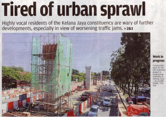 The Star, 2013 Mar 15 - Tired of urban sprawl
