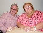 2014 July 02 - Jim & Karen at Pantry Restaurant2