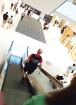 Security guard at Bayshore Shopping Centre