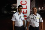 Smiling Security guards at Taylor's College