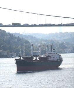 Oct 09 - cruising the Bosphorus Straits20