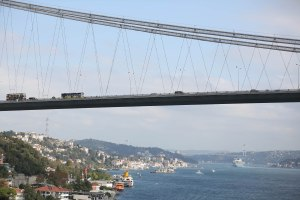 Oct 09 - cruising the Bosphorus Straits56