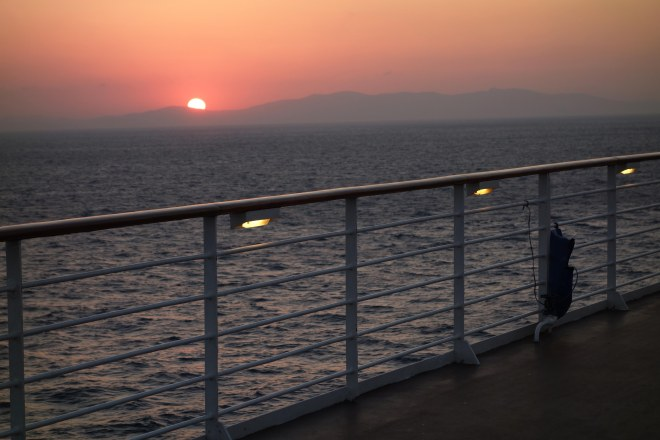 Oct 10 - on board Constellation30