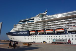 Oct 11 - Constellation in port at Athens1