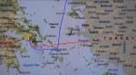 Map - Athens to Kusadasi