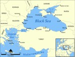 Map of Black & Aegean Seas