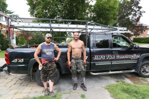 2014 Aug 01 - Shingling3 (Levesque brothers)