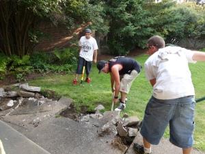 2014 Aug 06 - slab removal2