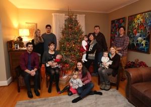 2014 Dec 20 - Christmas Family Portrait
