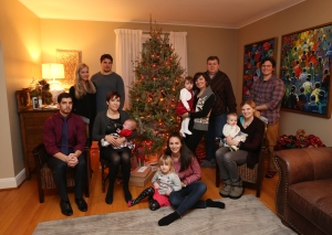 2014 Dec 20 - Christmas Family Portrait