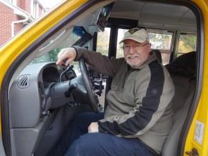 2014 Oct 20 - Ron Resmer & school bus2